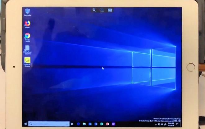 Biến chiếc iPad trở thành một máy tính thực sự với Windows 10, hỗ trợ cả chuột Bluetooth - Ảnh 1.