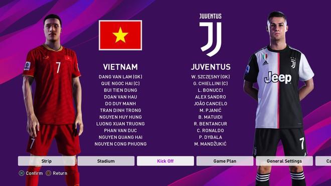 Game thủ Việt tung bản mod chỉnh sửa khuôn mặt Văn Hậu, Văn Lâm trong PES 2020, cho phép trực tiếp điều khiển ĐTQG Việt Nam thi đấu - Ảnh 5.
