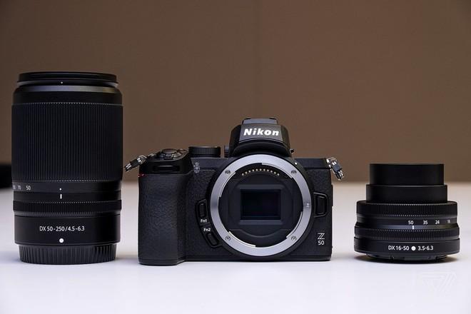 Nikon ra mắt Z50: Máy ảnh mirrorless nhỏ gọn, cảm biến APS-C, giá dưới 1.000 USD - Ảnh 2.