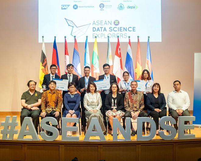 Sinh viên Việt Nam đăng quang cuộc thi Khám phá Khoa học Số ASEAN 2019 - Ảnh 1.