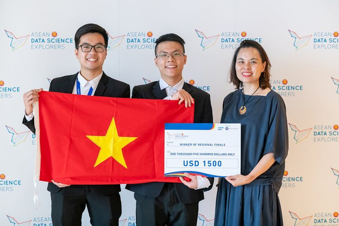 Sinh viên Việt Nam đăng quang cuộc thi Khám phá Khoa học Số ASEAN 2019 - Ảnh 2.