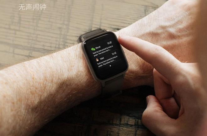 Xiaomi ra mắt smartwatch thiết kế giống Apple Watch, pin 14 ngày, giá 330.000 đồng - Ảnh 3.