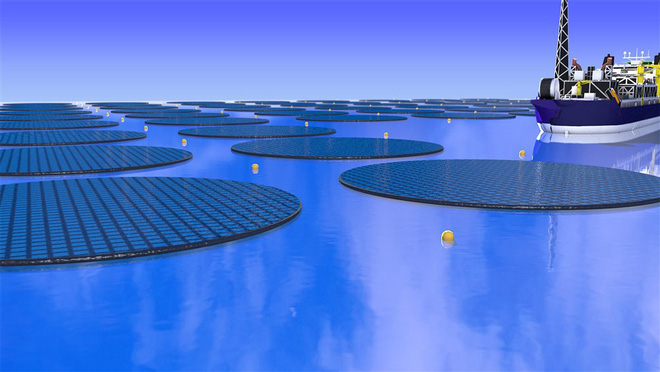 Lại thêm công nghệ 3-trong-1 mới: đảo năng lượng Mặt Trời sẽ vừa hút CO2 trong nước biển, vừa tạo ra methanol để làm nhiên liệu - Ảnh 1.