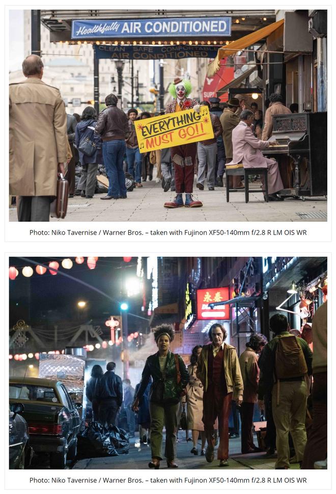 Ngắm những bức hình hậu trường tuyệt đẹp của bộ phim Joker được chụp từ máy ảnh Fujifilm - Ảnh 7.