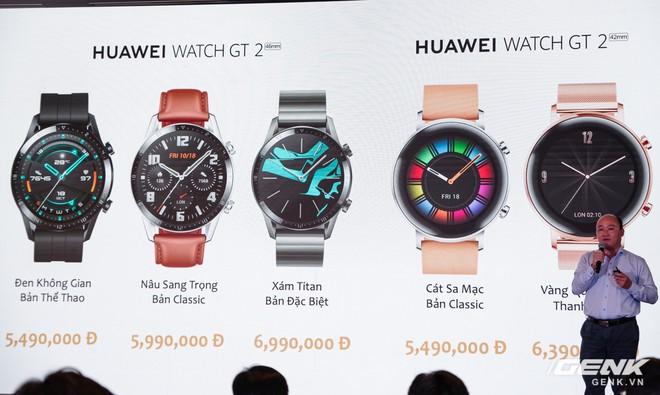Huawei chính thức giới thiệu đồng hồ Watch GT 2: hoạt động liên tục 2 tuần, kết nối Bluetooth BLE 5.1 giá từ 5,49 triệu - Ảnh 17.