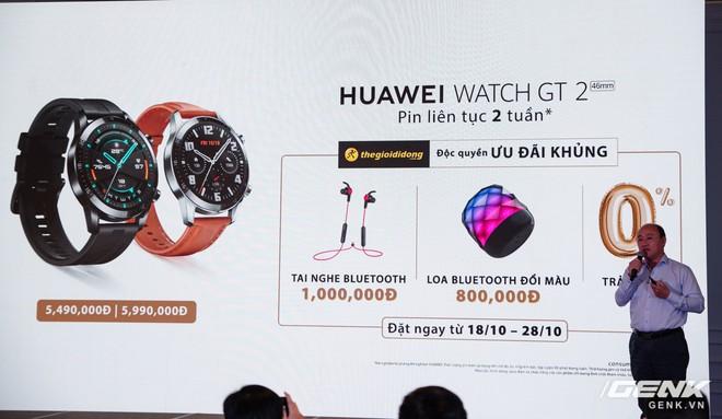 Huawei chính thức giới thiệu đồng hồ Watch GT 2: hoạt động liên tục 2 tuần, kết nối Bluetooth BLE 5.1 giá từ 5,49 triệu - Ảnh 18.