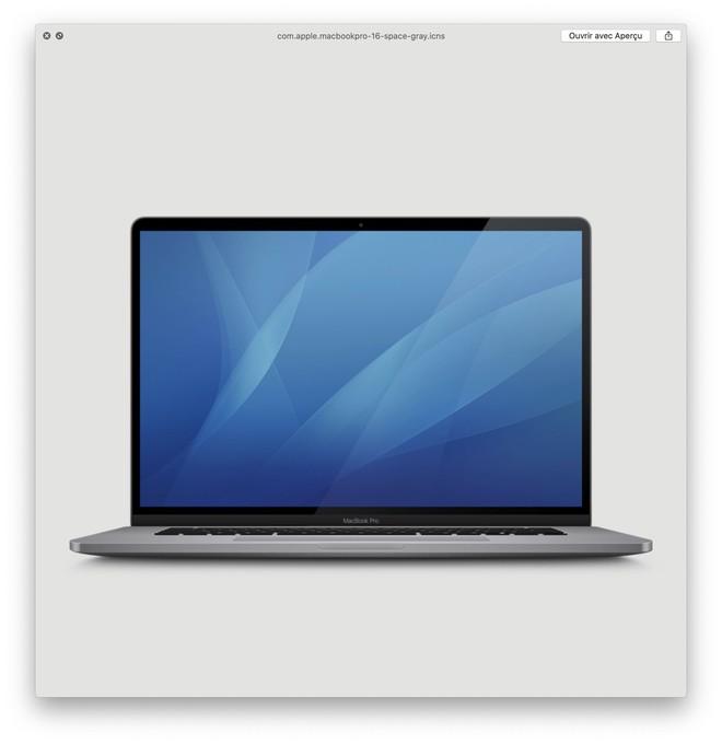 Apple để lộ MacBook Pro 16 inch mới với viền màn hình mỏng hơn - Ảnh 1.