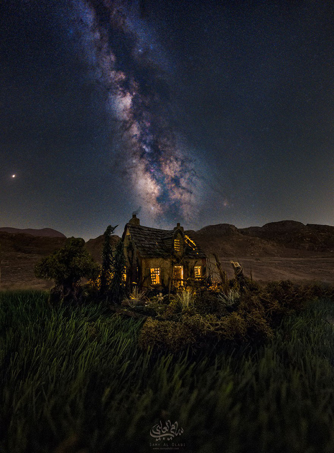 Ngắm những ánh trăng lừa dối tuyệt đẹp từ nghệ thuật chụp ảnh thiên văn bằng tiểu cảnh - Ảnh 9.