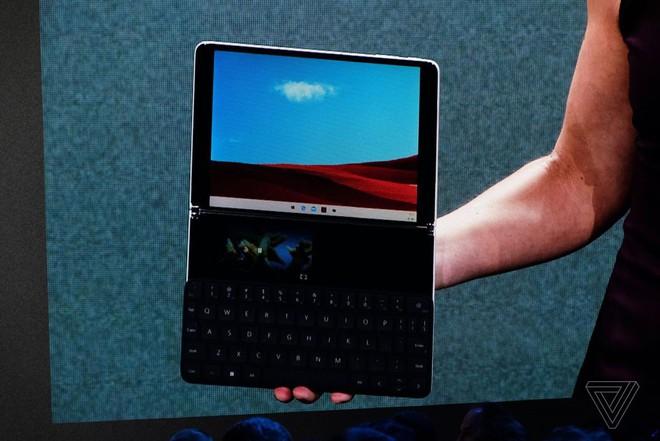 Microsoft công bố Surface Neo - thiết bị màn hình kép gập ra gập vào đều được, còn chưa hoàn thiện, dự kiến bán ra vào cuối năm sau - Ảnh 3.