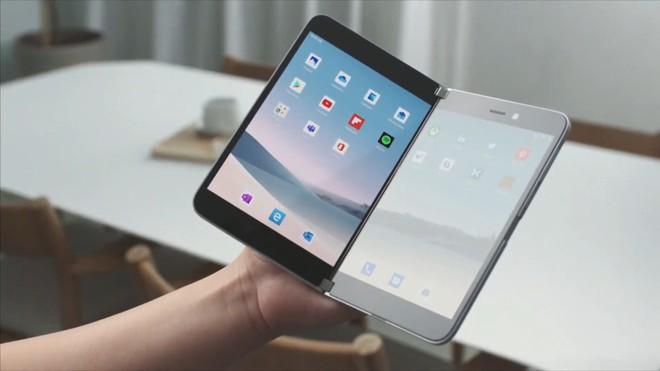 Microsoft bất ngờ ra mắt Surface Duo: Điện thoại hai màn hình chạy Android - Ảnh 1.