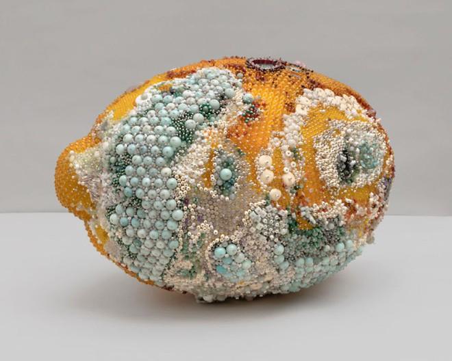 Nghệ sĩ Kathleen Ryan chứng minh cho ta thấy hoa quả thối cũng có vẻ đẹp riêng - Ảnh 4.