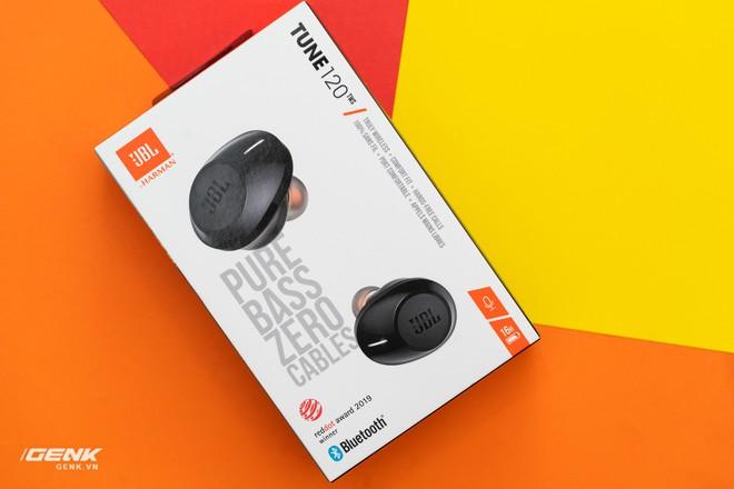 Đánh giá tai nghe true-wireless JBL Tune 120: Tất cả là về âm trầm - Ảnh 1.