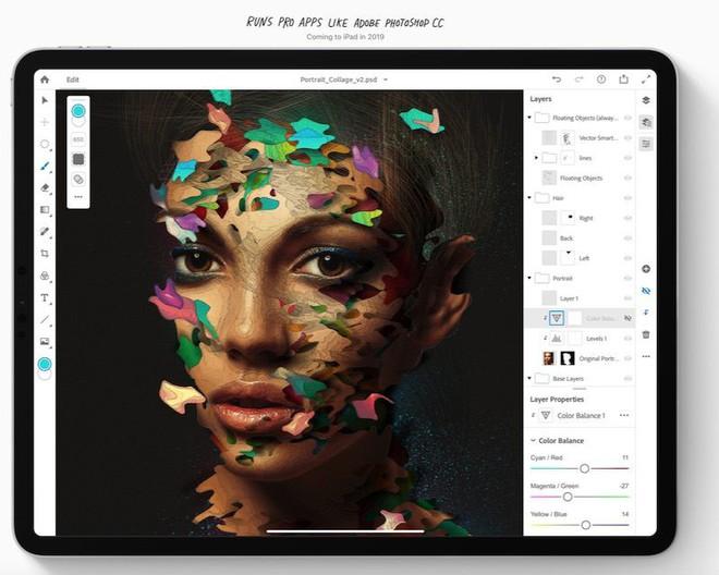 Adobe đang tập trung phát triển ứng dụng Photoshop cho iPad, sẽ có thêm phiên bản Illustrator ra mắt vào năm sau - Ảnh 1.