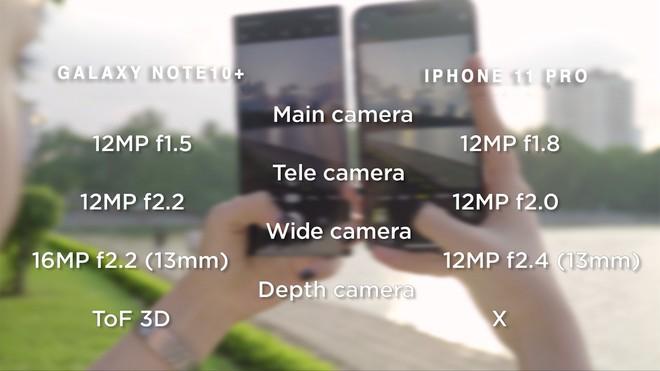 Thêm bài so camera giữa Galaxy Note10+ và iPhone 11 Pro Max ở nhiều điều kiện khác nhau - Ảnh 2.