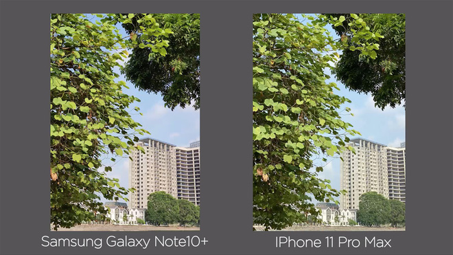 Thêm bài so camera giữa Galaxy Note10+ và iPhone 11 Pro Max ở nhiều điều kiện khác nhau - Ảnh 3.