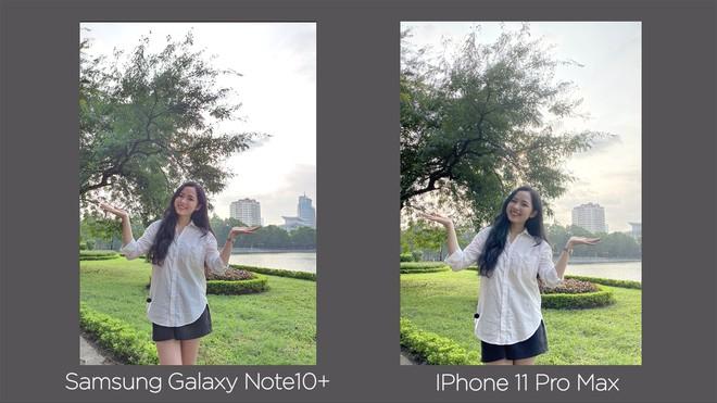 Thêm bài so camera giữa Galaxy Note10+ và iPhone 11 Pro Max ở nhiều điều kiện khác nhau - Ảnh 6.