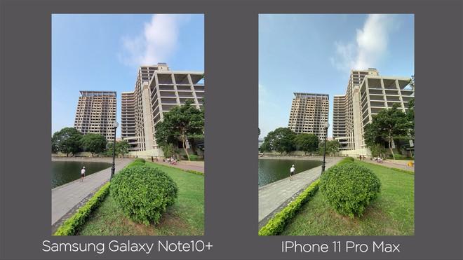 Thêm bài so camera giữa Galaxy Note10+ và iPhone 11 Pro Max ở nhiều điều kiện khác nhau - Ảnh 8.