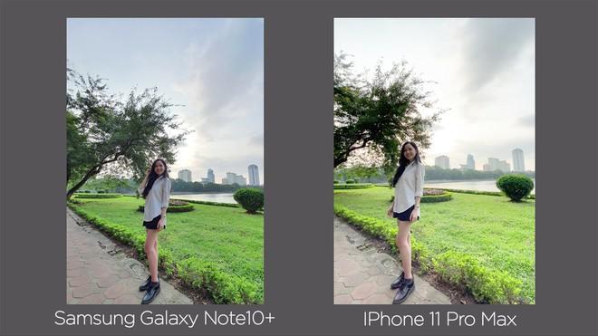 Thêm bài so camera giữa Galaxy Note10+ và iPhone 11 Pro Max ở nhiều điều kiện khác nhau - Ảnh 9.