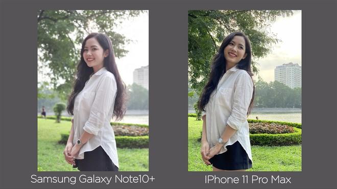 Thêm bài so camera giữa Galaxy Note10+ và iPhone 11 Pro Max ở nhiều điều kiện khác nhau - Ảnh 10.