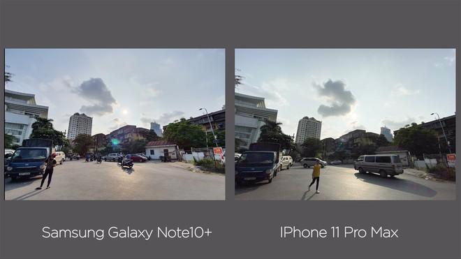 Thêm bài so camera giữa Galaxy Note10+ và iPhone 11 Pro Max ở nhiều điều kiện khác nhau - Ảnh 14.