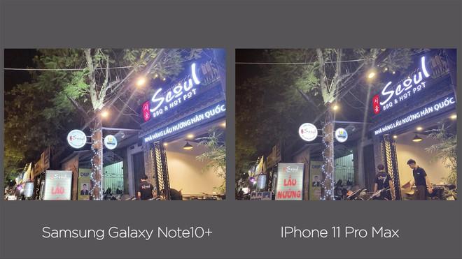 Thêm bài so camera giữa Galaxy Note10+ và iPhone 11 Pro Max ở nhiều điều kiện khác nhau - Ảnh 16.