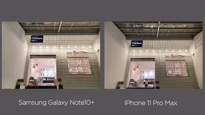 Thêm bài so camera giữa Galaxy Note10+ và iPhone 11 Pro Max ở nhiều điều kiện khác nhau - Ảnh 21.