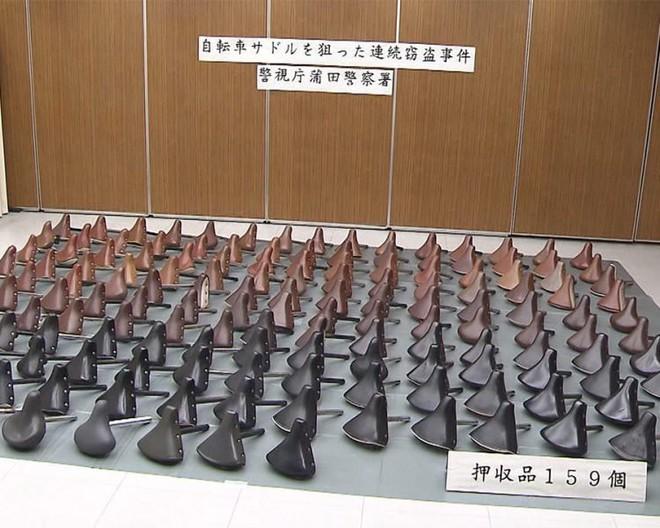 Nhật Bản: Cụ ông trả thù đời bằng cách ăn trộm gần 200 chiếc yên xe đạp - Ảnh 2.