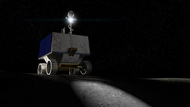 NASA lên kế hoạch gửi robot lên cực nam của Mặt Trăng để tìm kiếm nước - Ảnh 1.