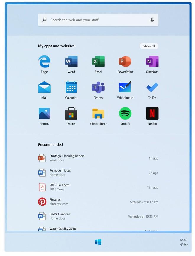 Microsoft tiết lộ những hình ảnh đầu tiên của Windows 10X, sẽ được trang bị cho cả laptop - Ảnh 4.