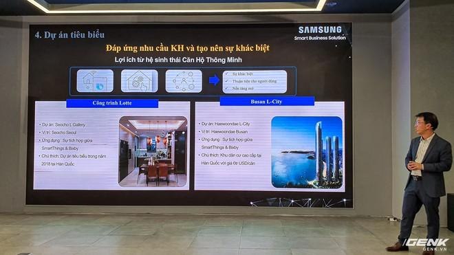 Samsung ra mắt giải pháp smarthome và smart building tại Việt Nam - Ảnh 18.