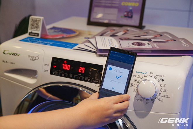 Candy ra mắt dòng máy giặt Rapido: giặt nhanh 39 phút, có kết nối với smartphone giá từ 8,8 triệu đồng - Ảnh 5.
