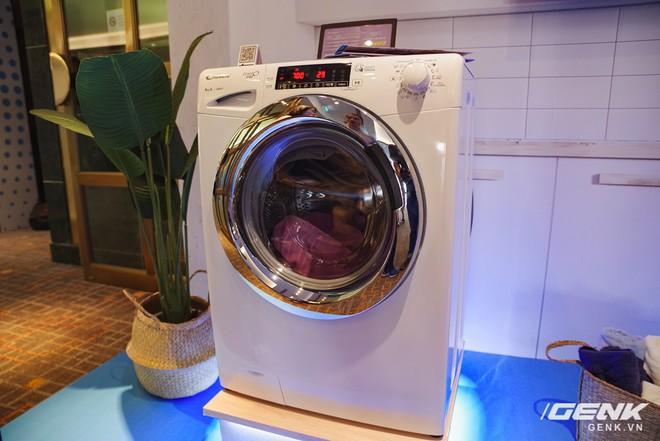 Candy ra mắt dòng máy giặt Rapido: giặt nhanh 39 phút, có kết nối với smartphone giá từ 8,8 triệu đồng - Ảnh 2.