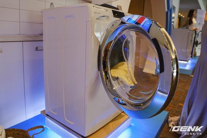 Candy ra mắt dòng máy giặt Rapido: giặt nhanh 39 phút, có kết nối với smartphone giá từ 8,8 triệu đồng - Ảnh 3.