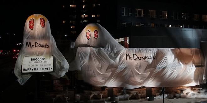 Burger King cà khịa cực mạnh khi hóa trang thành McDonald's để đón Halloween - Ảnh 3.