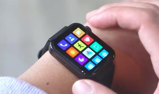 Lộ video trên tay Xiaomi Mi Smartwatch, thao tác điều khiển giống Apple Watch, có thể xem video - Ảnh 1.