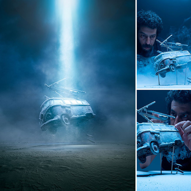 Thưởng thức mỗi bức ảnh của nghệ sĩ Felix Hernandez, chắc chắn bạn sẽ tưởng tượng ra một bộ phim đằng sau nó - Ảnh 1.