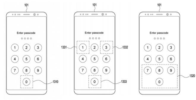 Smartphone tương lai của Samsung có thể quét vân tay khi bạn nhập mã pin - Ảnh 1.