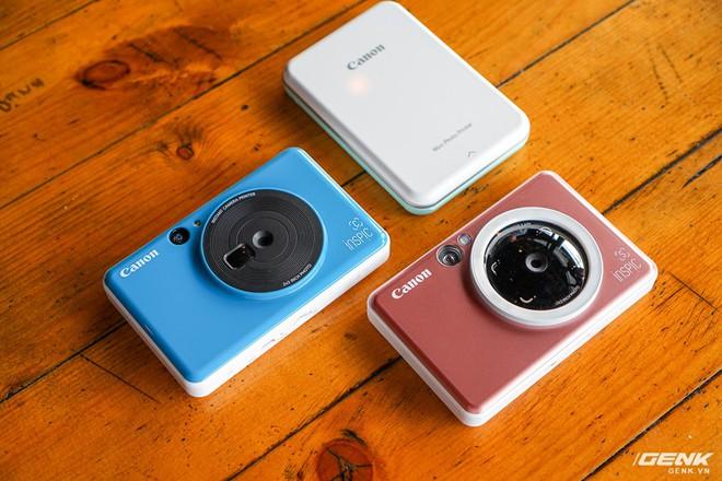 Dùng thử máy chụp in ảnh liền đầu tiên của Canon: gọn nhẹ, thời trang, kết nối được với smartphone để in thêm ảnh - Ảnh 1.