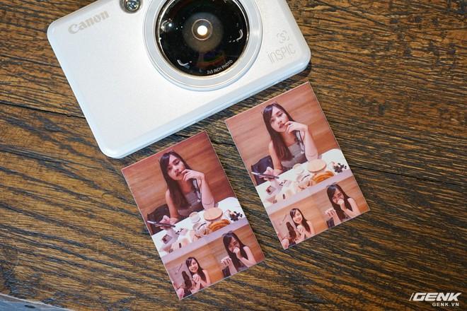Dùng thử máy chụp in ảnh liền đầu tiên của Canon: gọn nhẹ, thời trang, kết nối được với smartphone để in thêm ảnh - Ảnh 11.