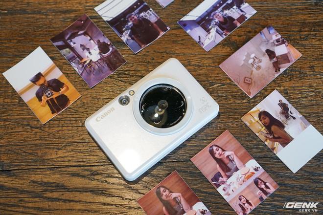 Dùng thử máy chụp in ảnh liền đầu tiên của Canon: gọn nhẹ, thời trang, kết nối được với smartphone để in thêm ảnh - Ảnh 7.