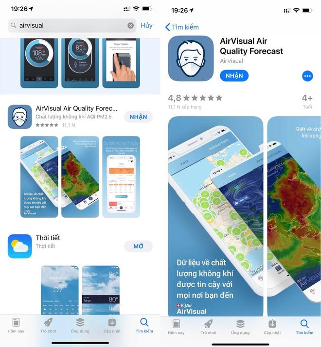 AirVisual đã quay trở lại cửa hàng ứng dụng - Ảnh 1.