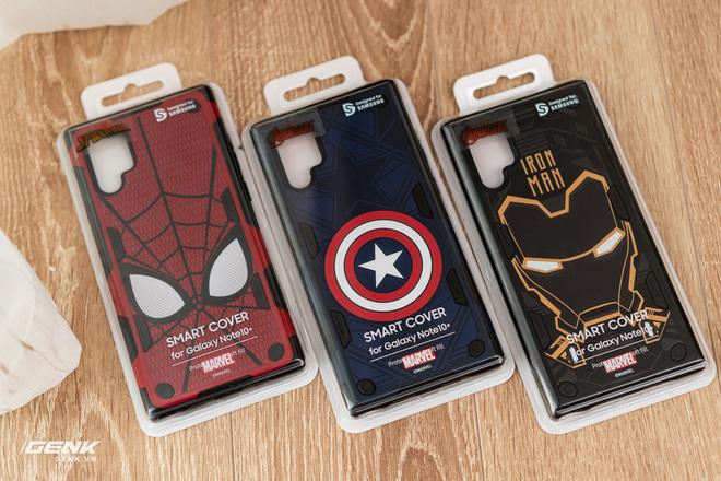 Trên tay ốp lưng Galaxy Note 10+ phiên bản Siêu anh hùng Marvel: rất cao cấp, đổi được giao diện cực cool - Ảnh 1.