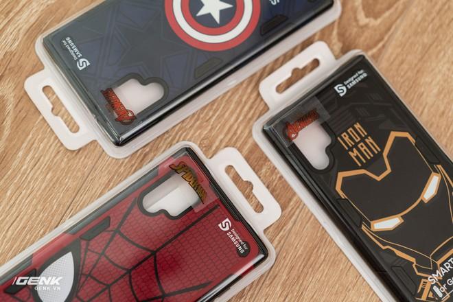Trên tay ốp lưng Galaxy Note 10+ phiên bản Siêu anh hùng Marvel: rất cao cấp, đổi được giao diện cực cool - Ảnh 2.