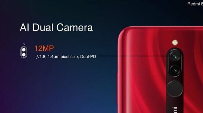 Redmi 8 ra mắt: Smartphone giá rẻ với chip Snapdragon 439, camera kép, pin 5.000 mAh, 112 USD - Ảnh 3.