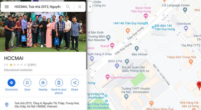 HOCMAI nhận bão 1* trên chợ ứng dụng, Google Maps vì hợp tác cùng giáo viên Vũ Khắc Ngọc - Ảnh 5.