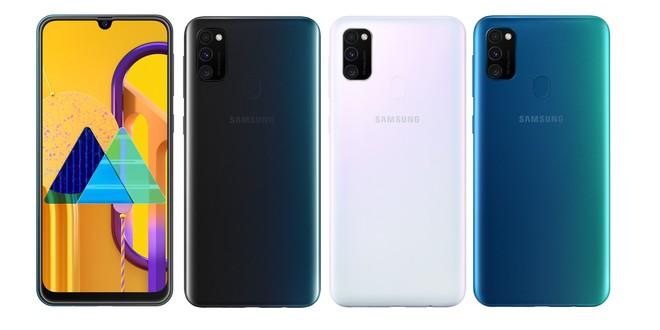 Samsung ra mắt Galaxy M30s tại Việt Nam: Pin 6000mAh, 3 camera, giá 6.99 triệu đồng - Ảnh 1.