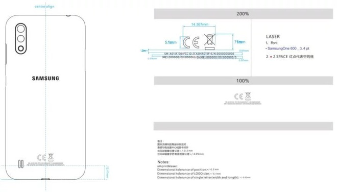 Hết kiểu đặt tên, Samsung sắp bán Galaxy A01 với camera kép, pin 3.000 mAh, do công ty Trung Quốc sản xuất - Ảnh 2.