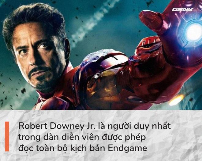 Avengers: Endgame và 11 bí mật chưa từng kể: Chỉ duy nhất Iron Man được đọc kịch bản hoàn chỉnh, câu thoại I Love You 3000 xuất phát từ con gái ruột của Robert Downey Jr - Ảnh 2.