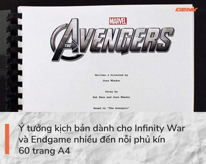 Avengers: Endgame và 11 bí mật chưa từng kể: Chỉ duy nhất Iron Man được đọc kịch bản hoàn chỉnh, câu thoại I Love You 3000 xuất phát từ con gái ruột của Robert Downey Jr - Ảnh 4.