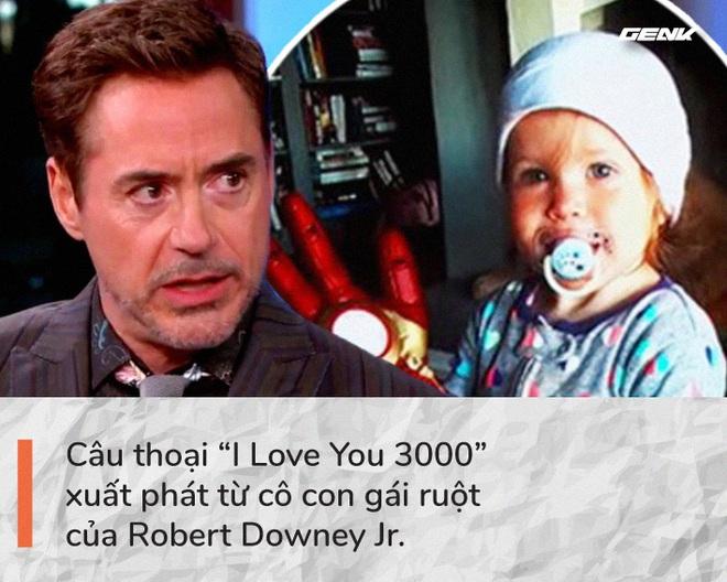 Avengers: Endgame và 11 bí mật chưa từng kể: Chỉ duy nhất Iron Man được đọc kịch bản hoàn chỉnh, câu thoại I Love You 3000 xuất phát từ con gái ruột của Robert Downey Jr - Ảnh 7.